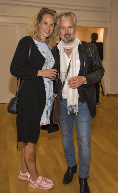 RASER: Ebba Heilmann, Aris kjæreste, mener dokumentaren utnytter kunstneren i en sår periode av livet hans. Foto: Tor Lindseth, Se og Hør