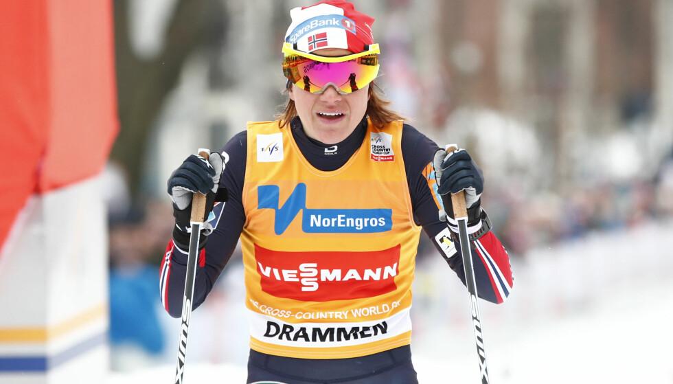 Drammen  20180307. i sprint, prolog  verdenscup i Drammen. Foto: Terje Pedersen / NTB scanpix