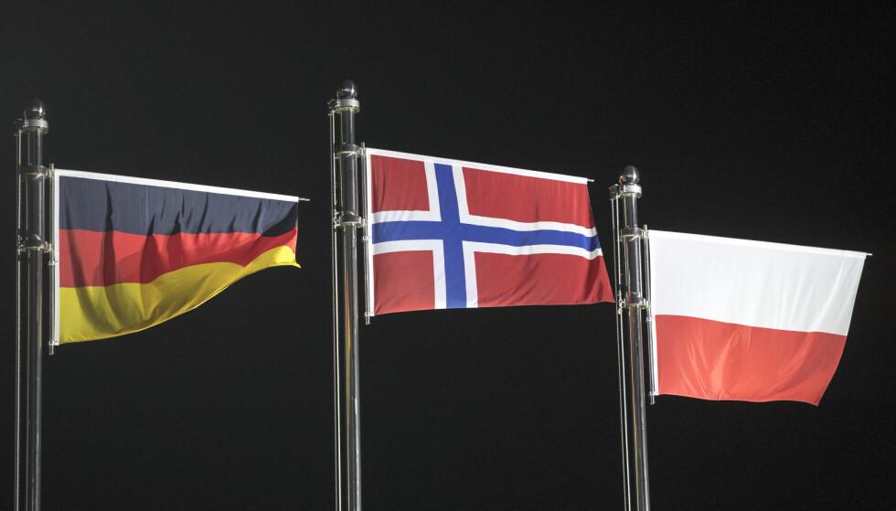 BEST I OL: Norge vant nasjonskampen i Norge. Men hvordan vinner vi fram med det riktige bildet av verdiene i norsk toppidrett? FOTO: Terje Pedersen / NTB scanpix