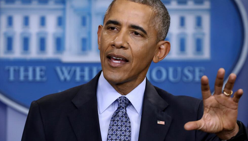 SKUESPILLER? USAs tidligere president, Barack Obama, er i forhandlinger med Netflix om en serie, melder New York Times. Foto: NTB scanpix