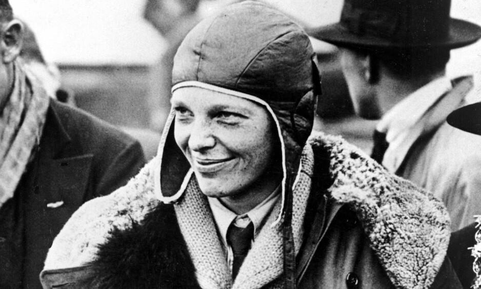 NYE ANALYSER: Beinrester funnet i Stillehavet kan tilhøre den amerikanske piloten Amelia Earhart. Foto: AP / NTB scanpix