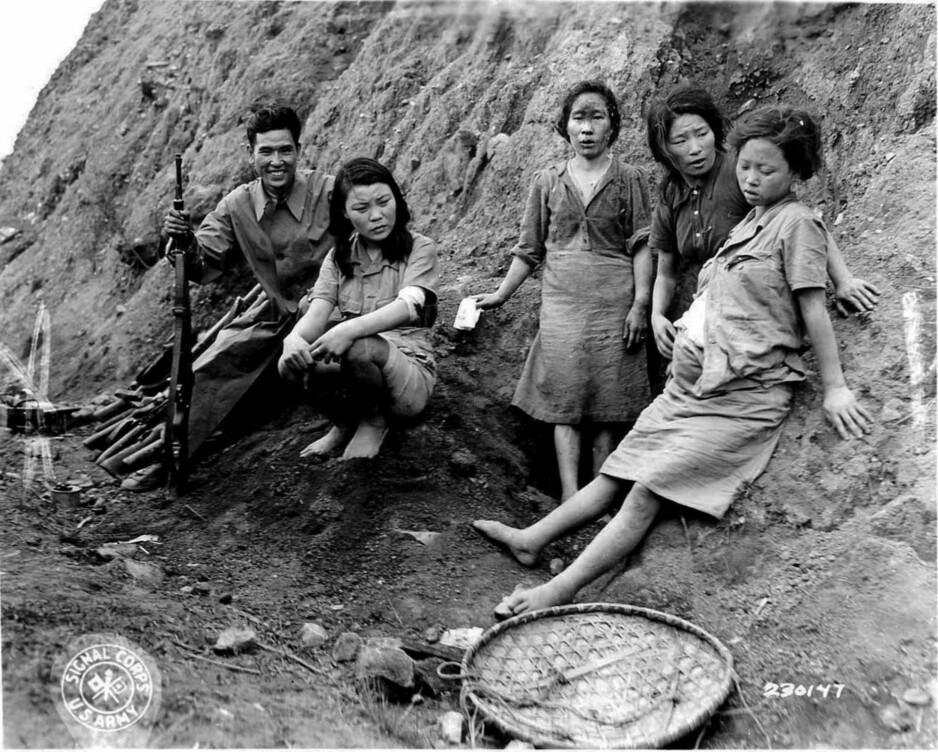 «Trøstekvinner»: Det uskyldig navnet skjulte 1900-tallest verste tilfelle av sexslaveri. Foto: U.S. Army Signal Corps/U.S. National Archives