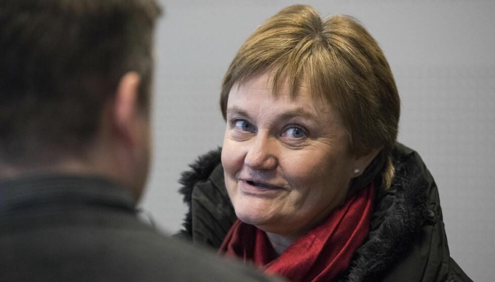 - SPESIELL SAK: Rigmor Aasrud (Ap) synes Monica Foss' sak er så spesiell at hun for ei tid siden henvendte seg til politisk ledelse i Arbeids- og sosialdepartementet om den. - Det er det veldig sjelden jeg gjør, sier Aasrud. Foto: Håkon Mosvold Larsen / NTB scanpix