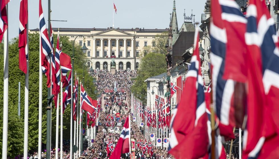 FORSKJELLER: Sør-Norge stikker av med årets fineste 17.mai-vær, mens det i Nord-Norge blir grått og muligheter for regn. Foto: Hans Arne Vedlog / Dagbladet