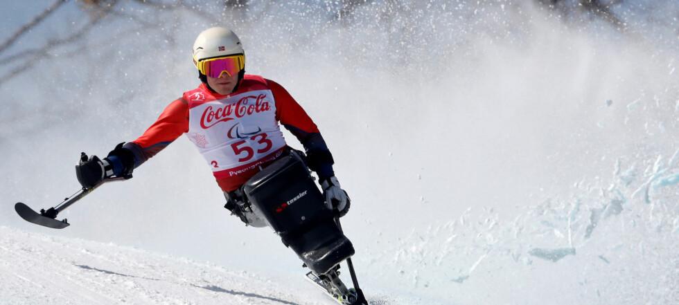 Ingen medalje for Pedersen i utfor i Paralympics