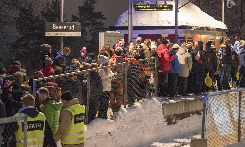 GJØR ENDRINGER: Femmila i Holmkollen vil gå tidligere neste år på grunn av årets fylleslag. Foto: Bjørn Langsem / Dagbladet