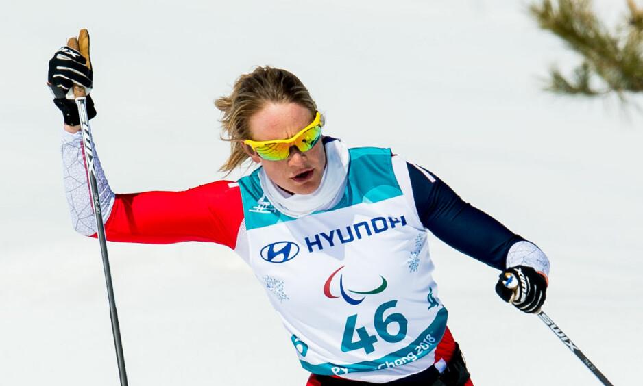 TØFFE FORHOLD: Varmen i Pyeongchang skaper problemer for Birgit Skarstein. Foto: Vegard Wivestad Grøtt / Bildbyrån