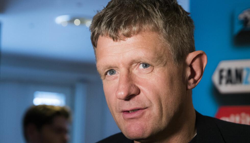 INSPIRERES: Brann-trener Lars Arne Nilsen sier Håvard Lorentzens gull i OL har satt standarden for Bergen-publikummet. Foto: Berit Roald / NTB scanpix