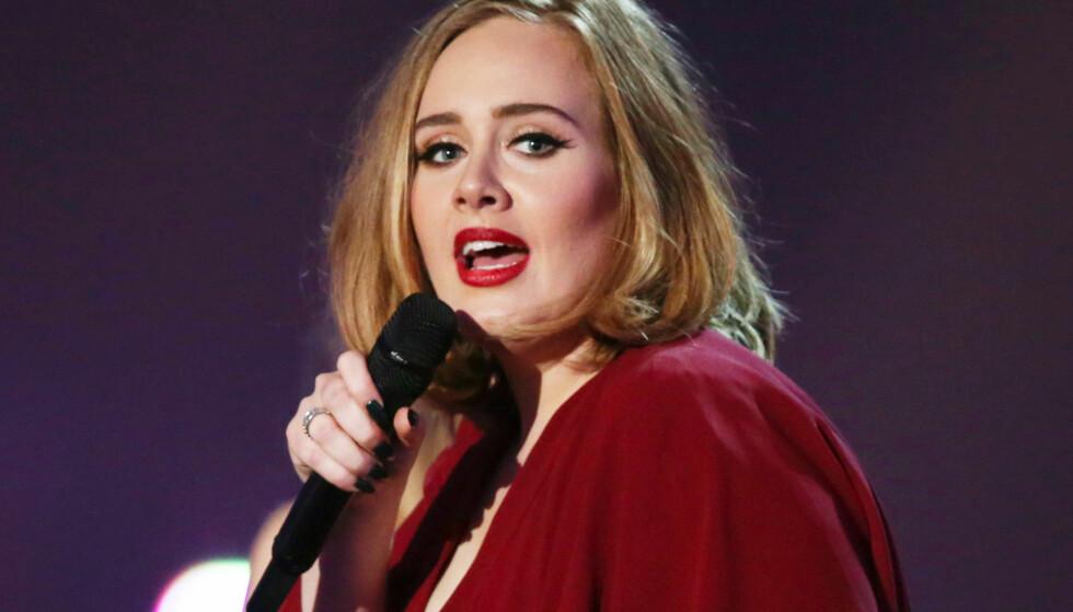 Adele: Blant artistene som tjener ekstra godt på strømming. Foto: NTB scanpix