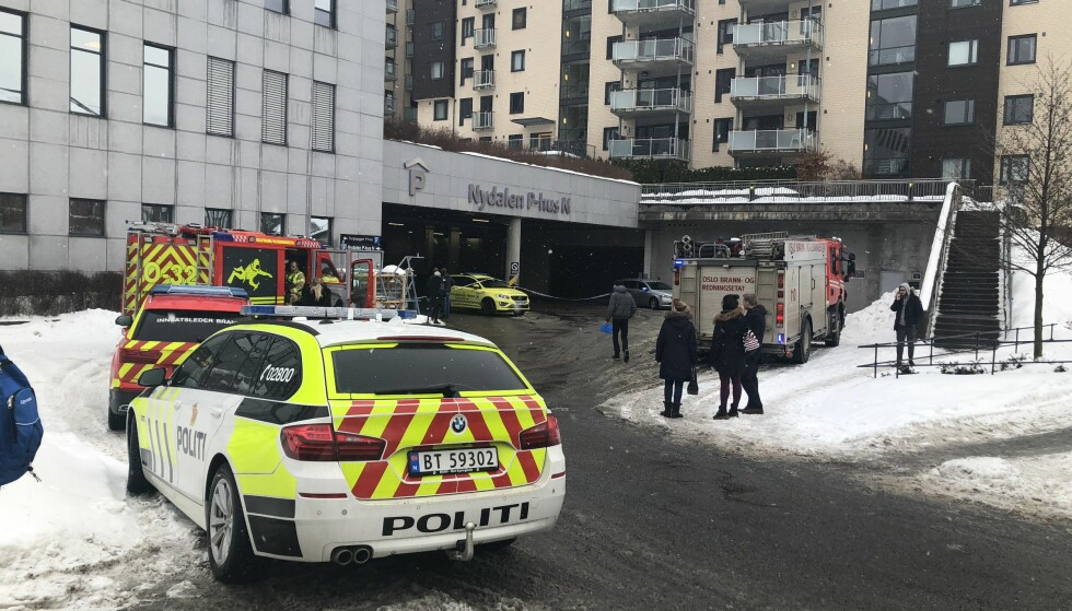 DØDE: En person mistet livet etter å ha kjørt inn i en murvegg i Oslo. Foto: Ingrid Cogorno / Dagbladet
