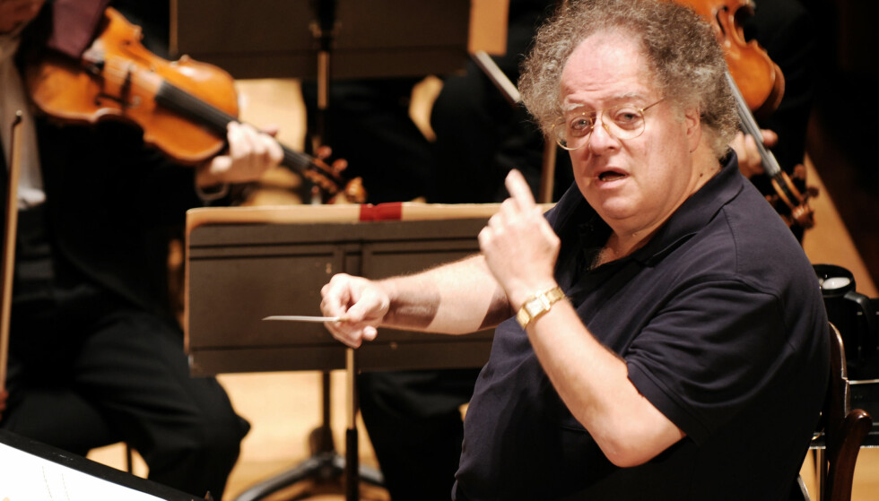 SPARKET: Meteropolitan Opera i New York har sparket dirigentlegenden James Levine etter overgrepsanklager. Foto: AFP PHOTO / DPA / Miguel MEDINA