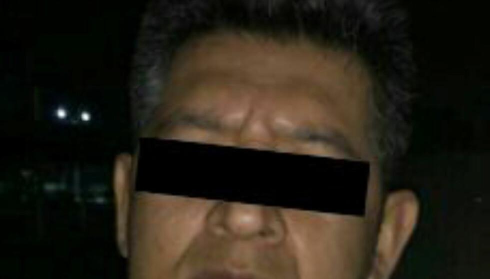 <strong>STUDENTAMASSAKREN I 2014:</strong> Politiet i Mexico har pågrepet denne mannen som sentral i forbindelse med studentmassakren i 2014 der 43 studenter ble drept. Han navngis som Erick Uriel «N». Foto: Mexicos påtalemyndighet/Reuters/NTB Scanpix.