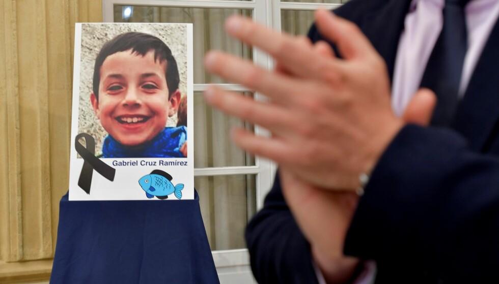 FUNNET DREPT: Gabriel Cruz ble søndag funnet drept i sin stemors bil. Foto: EPA / Carlos Bar