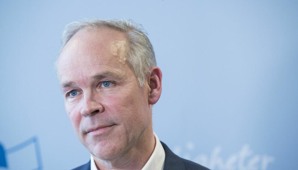 KRITISERER SPRÅKBRUK: Høyre-nestleder Jan Tore Sanner kritiserer Sylvi Listhaugs språkbruk i saken.