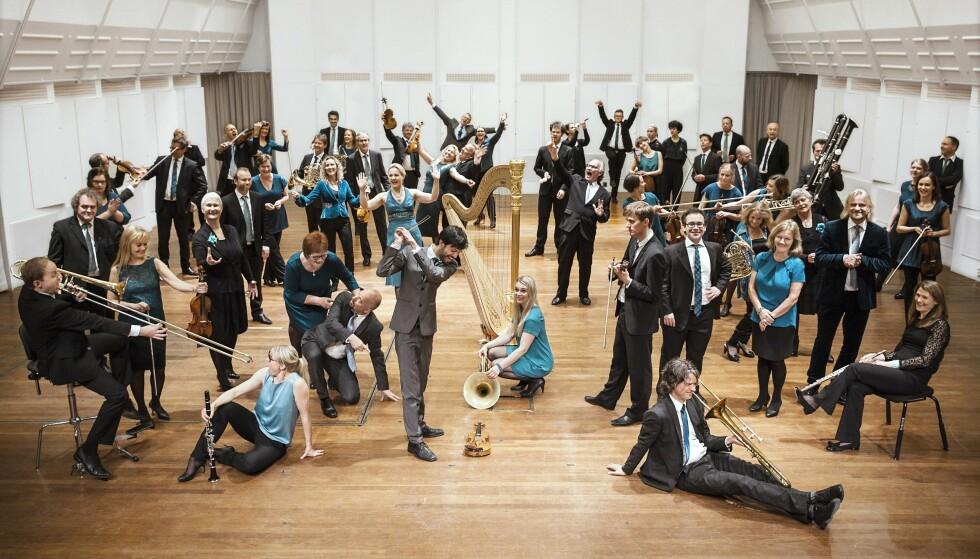 KORK: Kringkastingsorkestret - KORK - er blant orkestrene som skiller seg ut positivt ved å ta nye grep. Foto: Anna-Julia Granberg