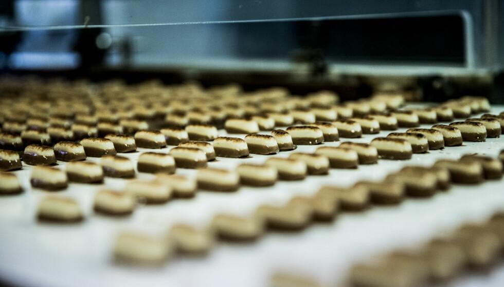 AVGIFTSFRITT: De nye mandelstengene er skreddersydd for å slippe sukkeravgiften.