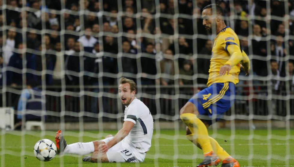 Skadet: I følge Daily Mirror kan Tottenhams stjernespiller Harry Kane være ute i sju uker. FOTO: Frank Augstein / AP Photo