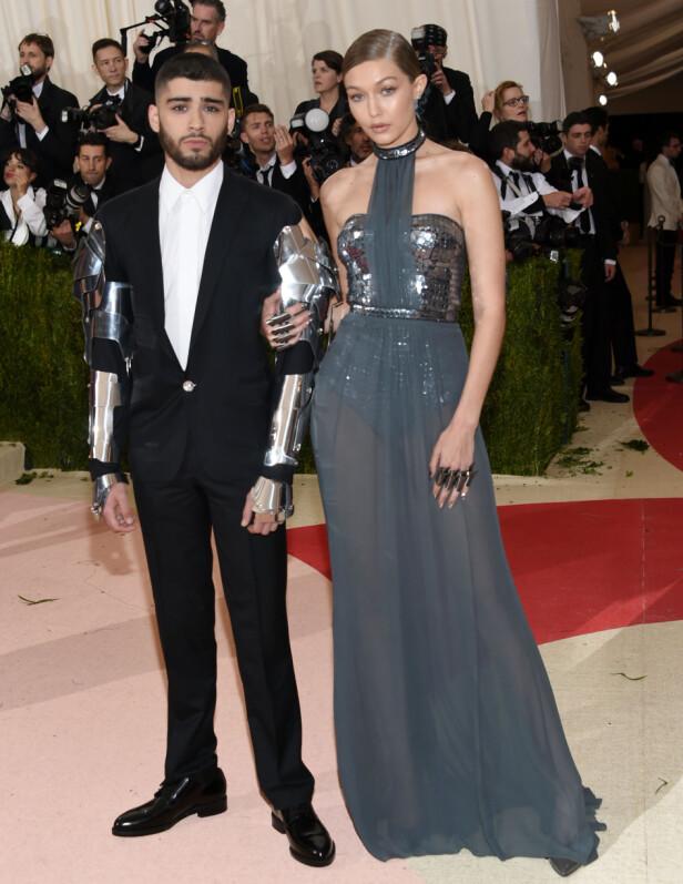 SAMMEN I TO ÅR: Zayn Malik og Gigi Hadid har vært regnet som et av de mest populære parene i Hollywood de siste åra. Foto: NTB Scanpix