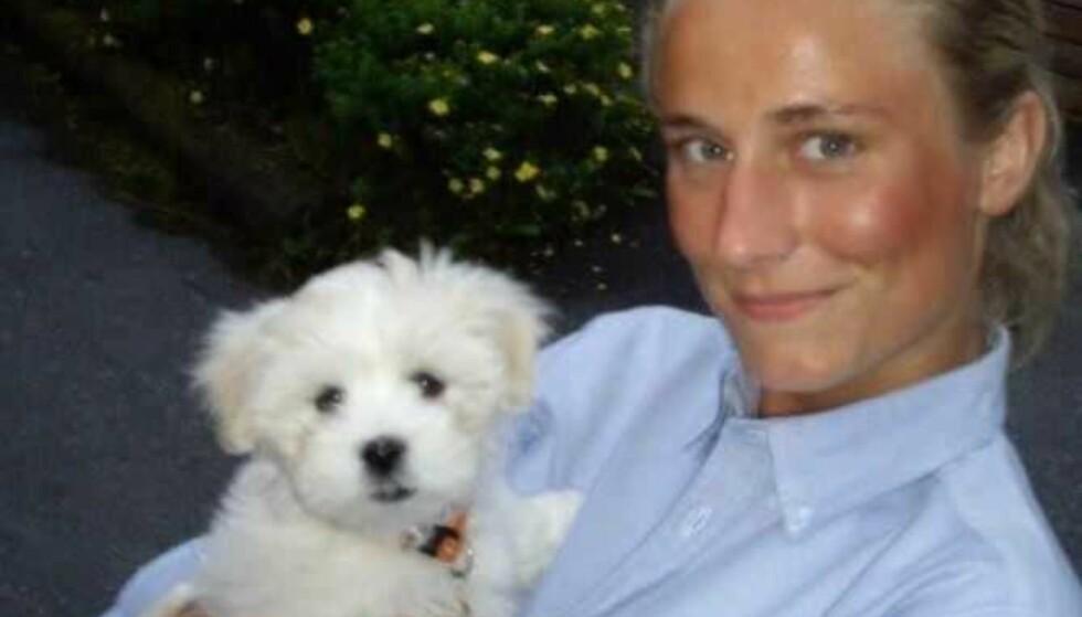 DREPT: Det er i dag ti år siden Martine Vik Magnussen ble drept i London. I den anledning har hennes far og politiet innkalt til en pressekonferanse. Foto: Privat