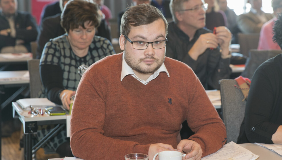 HETSET: Tarjei Jensen Bech, fylkesvaraordfører i Finnmark, ble utsatt for alvorlig hets i en epost etter at han tirsdag mente at Sylvi Listhaugs forklaring på et omdiskutert innlegg er lite troverdig. Foto: Vidar Ruud / NTB scanpix