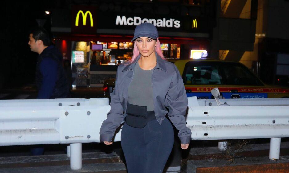 TREBARNSMOR: Kim Kardashian ble tidligere i år mamma for tredje gang. Det var langt fra tilfeldig at hennes tredje barn ble ei jente, kan hun nå fortelle. Foto: NTB scanpix