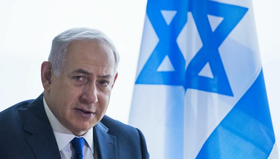 VIL STYRKE DET JØDISKE: Israels statsminister Benjamin Netanyahu er ultranasjonalist. Det går på bekostning av demokratiet. Foto: AP/NTB Scanpix