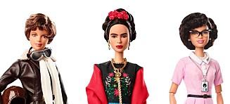 Barbie bør nok male øyenbrynet på Frida Kahlo-dukken