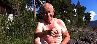 Her er Lasse Efskind. Han var verdens beste sprinter og skøytesportens største kranglefant