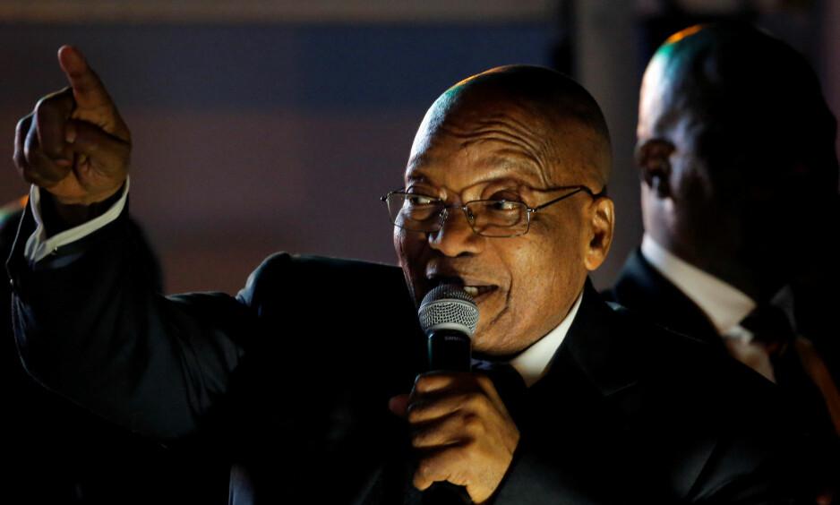 Blir tiltalt: Sør-Afrikas ekspresident Jacob Zuma. Foto: Mike Hutchings / Reuters / NTB Scanpix