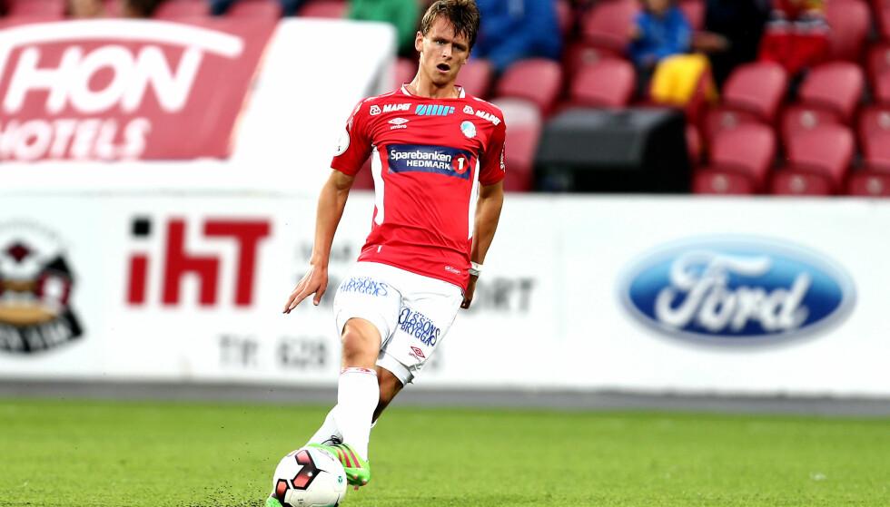 KAPTEIN: Adrian Ovlien var kaptein både på aldersbestemt landslag og i KIL. Foto: Digitalsport