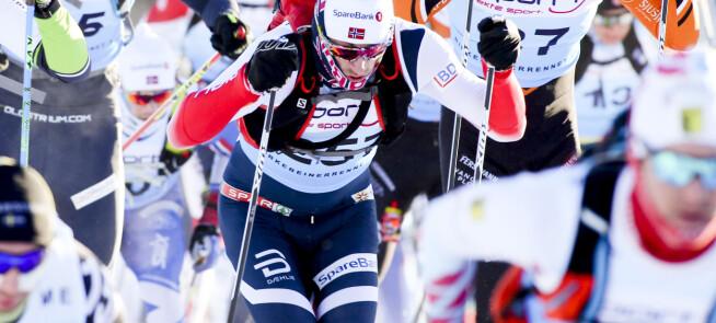 Northug avhengt i Birken, Nygaard vant