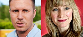 Vurderer å anmelde Eskil Pedersen og Inga Marte Thorkildsen. Mener seg stemplet som rasist