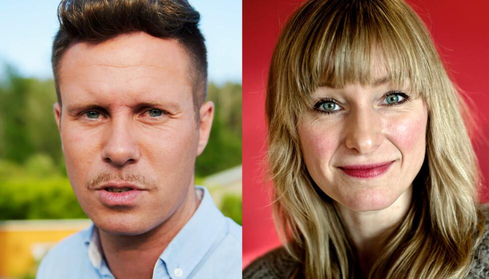 KOM MED STERKE UTTALELSER: Eskil Pedersen (Ap) og Inga Marte Thorkildsen (SV). Foto: Lars Eivind Bones og Tomm W. Christiansen / Dagbladet