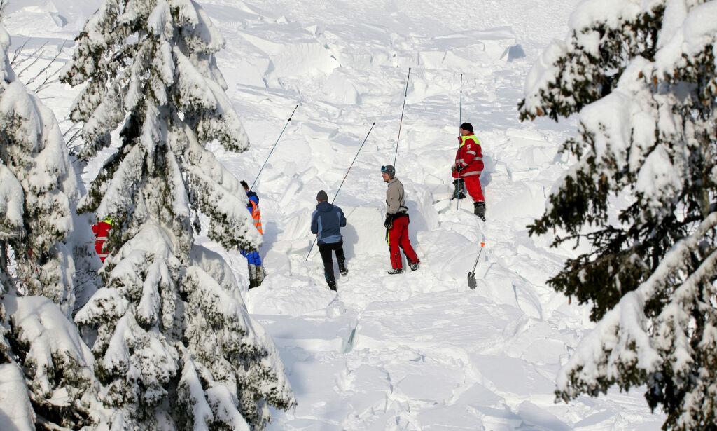 Antall snøskred i Norge firedoblet på ett år