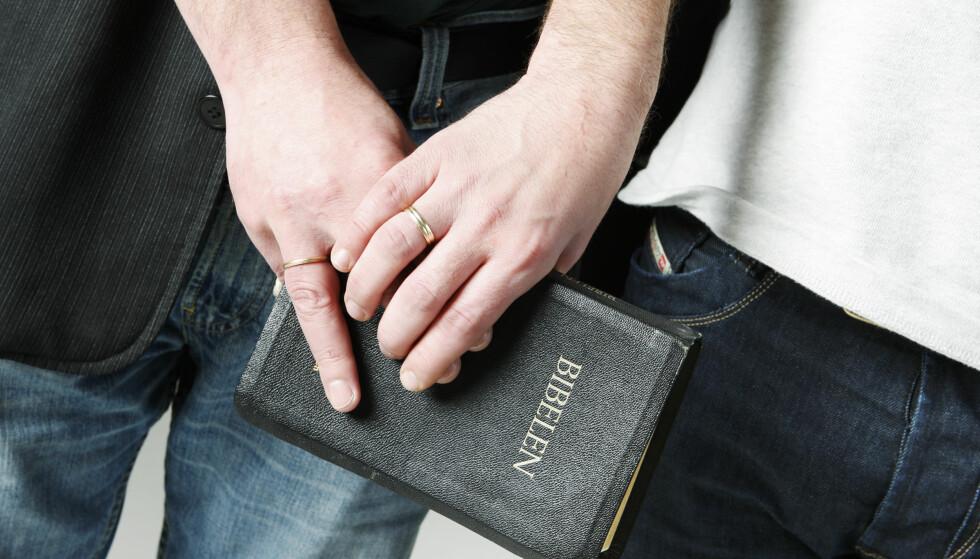 KRISTENKONSERVATIVE: - Vi håper – men vet vi ofte feiler – at vi som kalles «kristenkonservative» gjenkjennes på vår, og Guds, kjærlighet til alle mennesker. Uansett legning, skriver artikkelforfatterne. Foto: Håkon Mosvold Larsen / SCANPIX