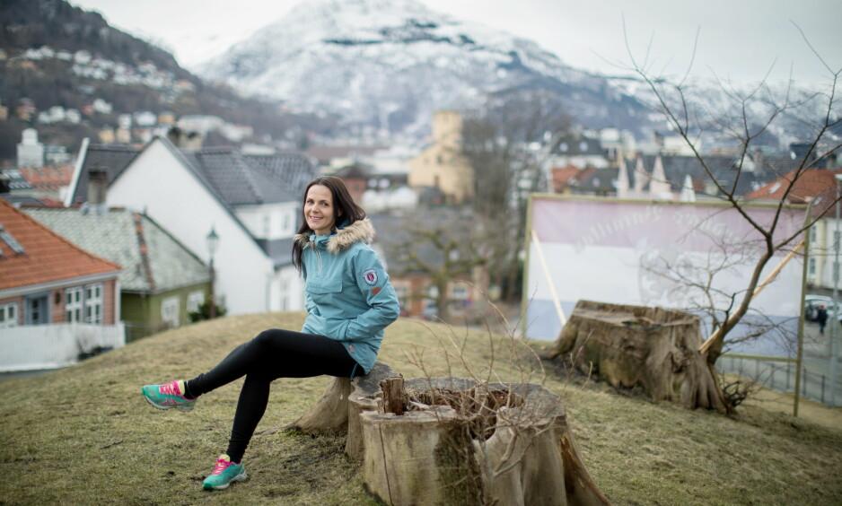 HELT FRISK: - Man kan ikke vite hvem som er sårbar for spiseforstyrrelser, sier Jorunn Gjerken-Gran (34). I sju år nå har hun vært helt frisk fra spiseforstyrrelser. Foto: Eivind Senneset