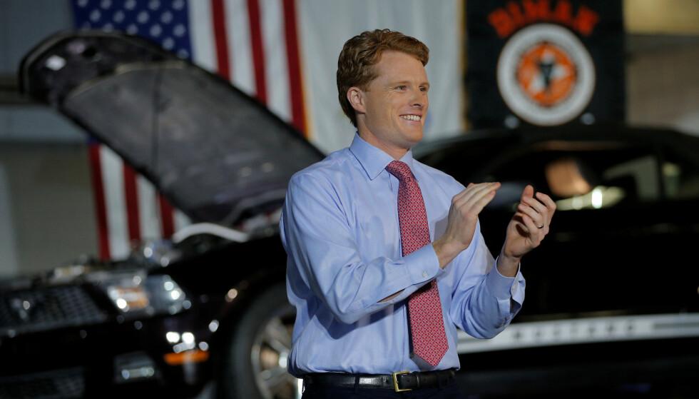 HÅP: Joe Kennedy III blir sett på som en stigende stjerne i det demokratiske partiet. Foto: REUTERS/Brian Snyder