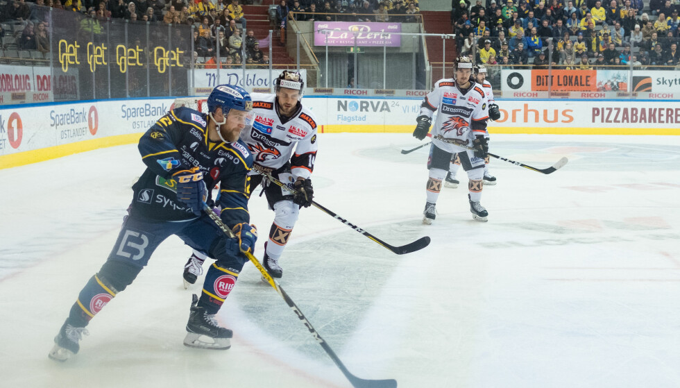 SLO TILBAKE: Frisk Asker med NM-finale i siktet etter seieren mot Storhamar. Foto: Fredrik Hagen / NTB scanpix