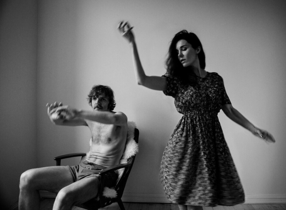NUMMER TO: Band of Gold består av Nicolai Hængsle og Nina Elisabeth Nordtvedt. «Where's the Magic» er deres andre album. Foto: Anthony Huus