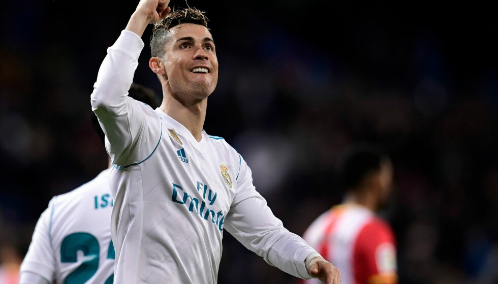 BRENNHET: Cristiano Ronaldo. Foto: AFP PHOTO / JAVIER SORIANO