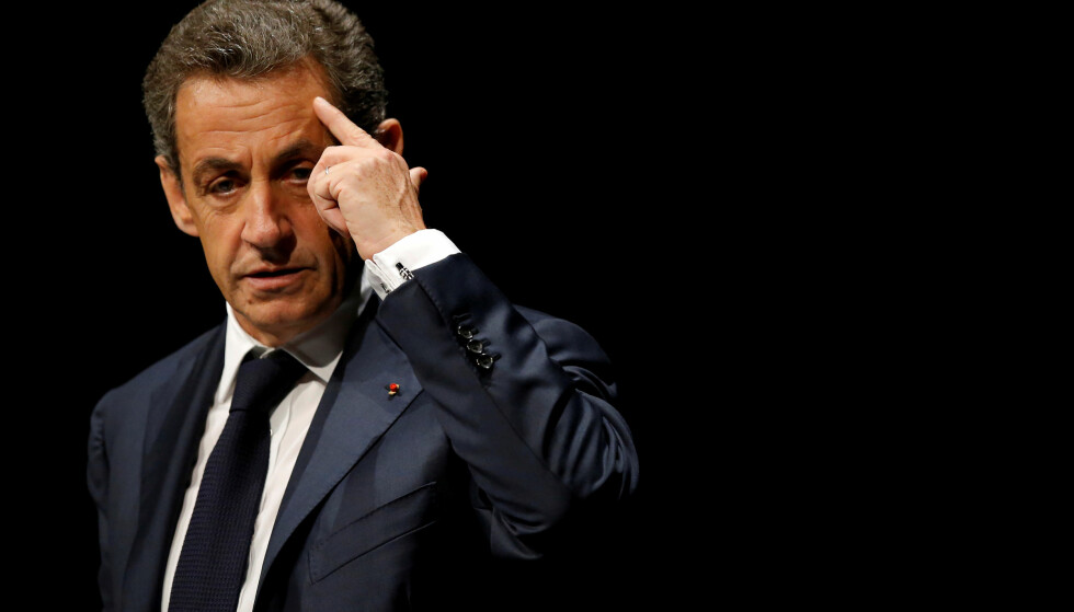PÅGREPET: Frankrikes tidligere president, Nicolas Sarkozy, er arrestert, mistenkt for å ha mottatt ulovlige pengesummer til valgkamp fra Libyas nå avdøde diktator, Muammar Gaddafi. Foto: Stephane Mahe / Reuters / Scanpix