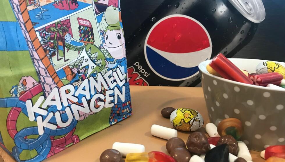 POPULÆR POST: Brus og godteri er populære varer å bestille på nett. Nå tar handelen av også på Vestlandet. Foto: Christopher Sjuve