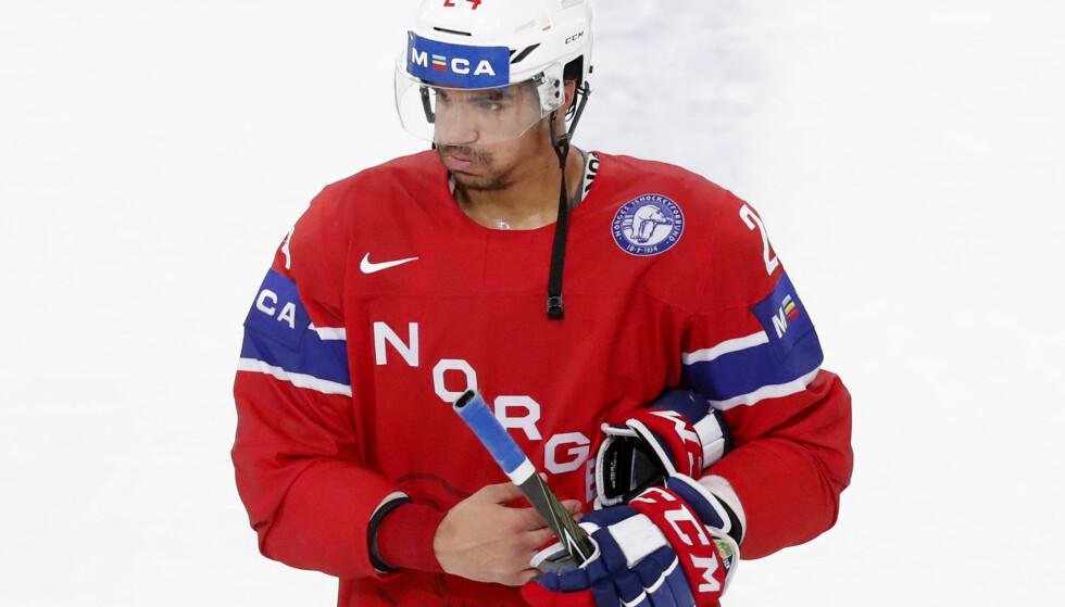 TILBAKE: Andreas Martinesen er kalt opp til NHL, og kan debutere for Chicago Blackhawks mot sin gamle arbeidsgiver natt til onsdag. Foto: Lise Åserud / NTB Scanpix