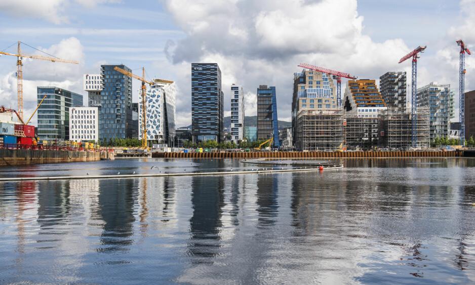 ROS: De tre beste byene, Oslo, København og Amsterdam, får ros for utbredt bruk av offentlig transport, klart markerte og sikre sykkelstier og fortauer og renere luft enn gjennomsnittet. Foto: Jon Olav Nesvold / NTB scanpix