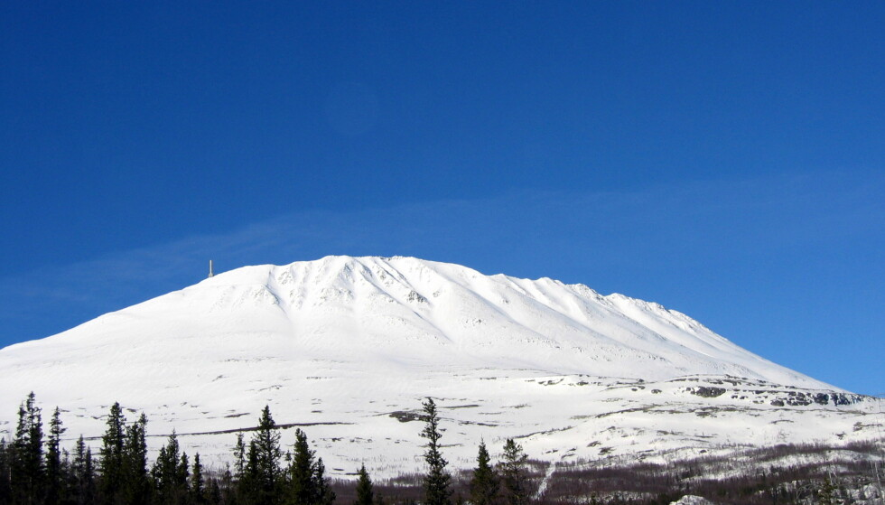 UTLØSTE SKRED: Fire skiløpere utløste skred tirsdag fra Telemarks høyeste fjell Gaustatoppen (1883 meter). En skiløper som ble tatt av snømassene berget seg. Illustrasjonsfoto: Gunnar Lier, NTB Scanpix.