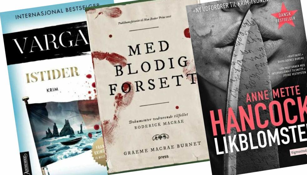 KRIMPÅSKE: Lurer du på hva du skal lese i påsken? Her finner du våre anmelderes favoritter i ulike kategorier.