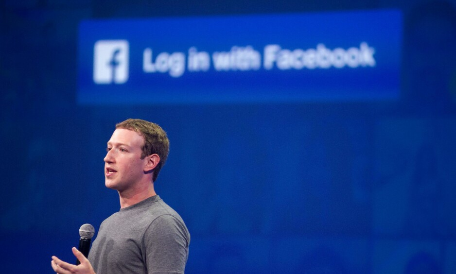 SKANDALE: Facbook-sjefen Mark Zuckerberg mener at professor Aleksandr Kogan har brutt tilliten hans. / AFP PHOTO / Josh Edelson