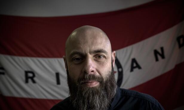 - EN VANSKELIG FILM: Produsent i Friland Film, Christian Fredrik Martin (46), også kjent som Kifrik, er i ferd med å ferdigstille «Mordene i Kongo». Han beskriver den årelange prosessen som svært utfordrende. Foto: Tomm W. Christiansen / Dagbladet