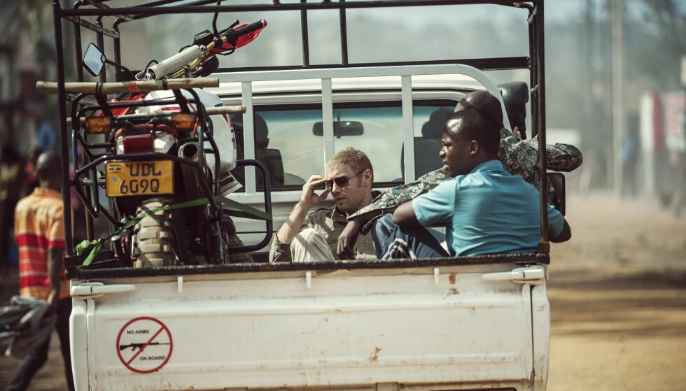 HENNIE: Aksel Hennie som Joshua French. Foto: David Bloomer/ Friland Film