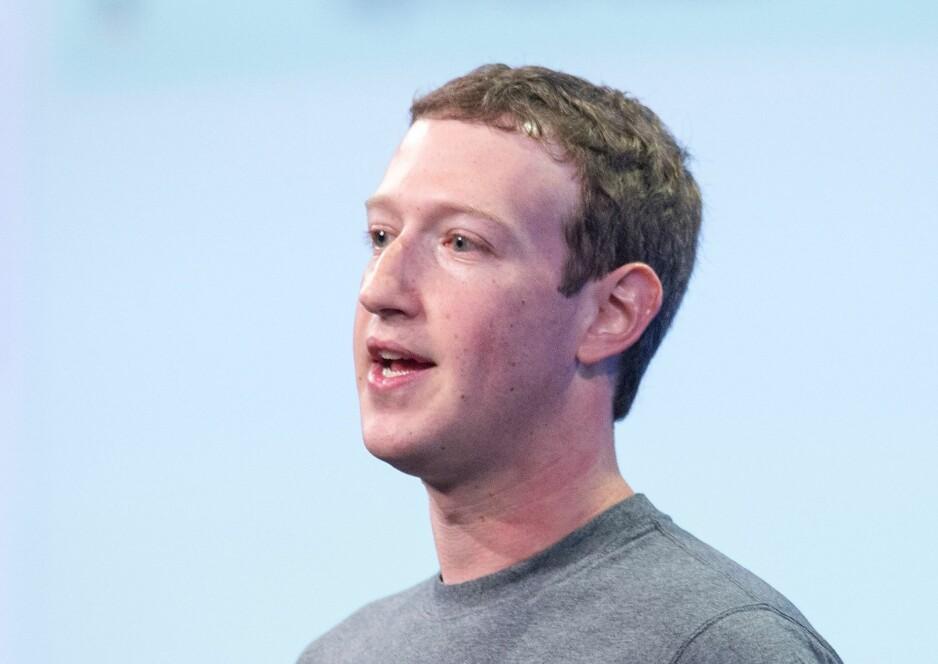 FALLER: Facebook-askjen falt ni prosent denne uken. Foto: Josh Edelson/ AFP Photo/ NTB Scanpix